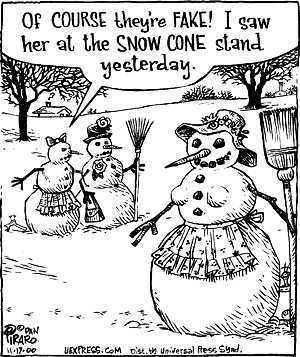 snow-woman
