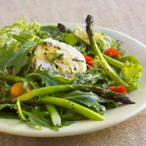 asparagus and chicken salad
