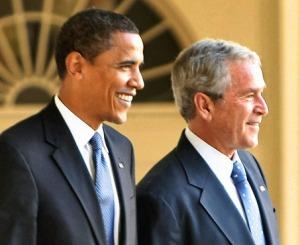 Bush Obama