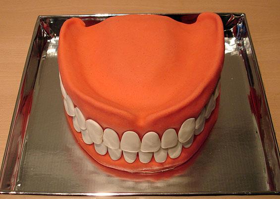 dentures cake