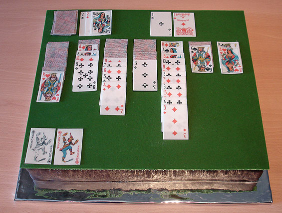 solitaire cake