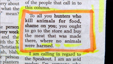 hunting joke