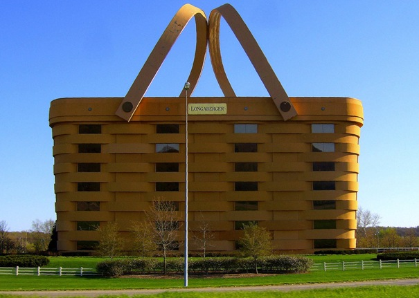 strange building