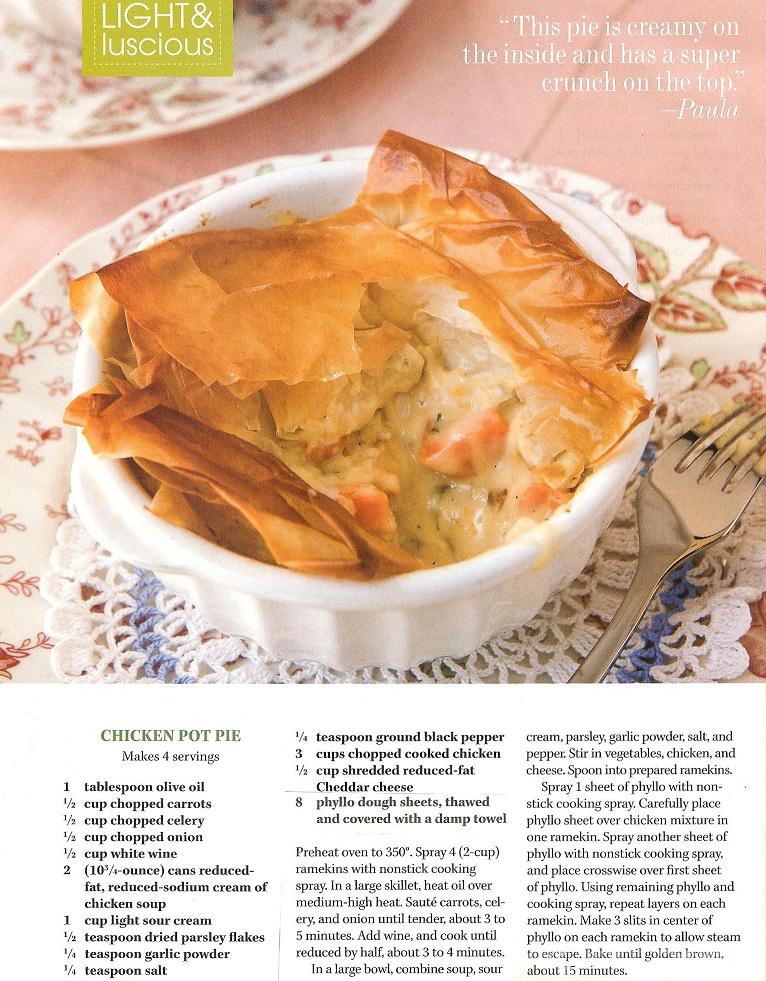 Paula Deens Chicken Pot Pie Us Girlsour Views