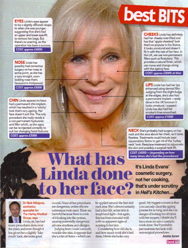 linda evans official