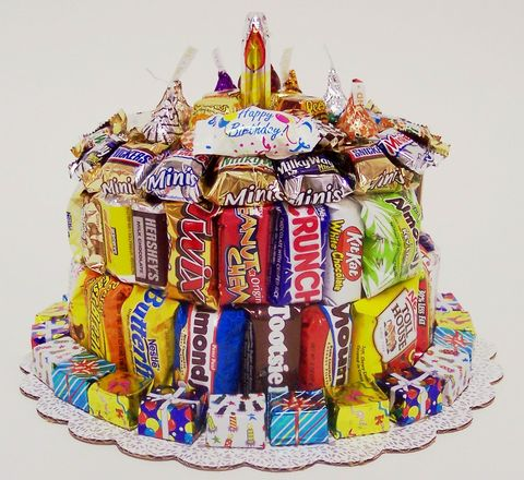 candy bar cake happy birthday us our views 2432