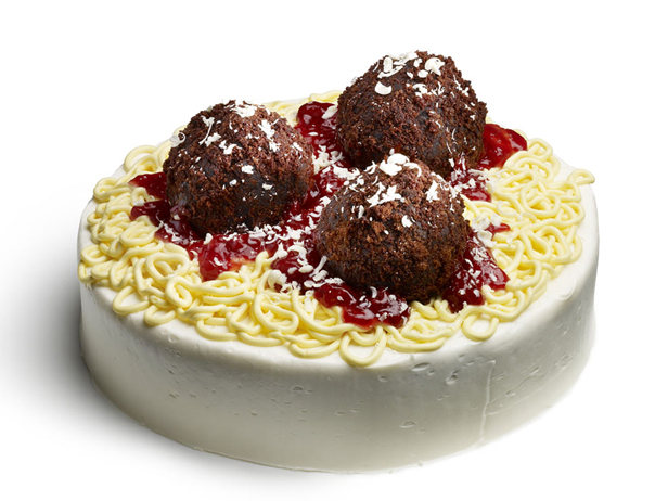 Spaghetti and Meatball Cake | Us Girls..Our Views