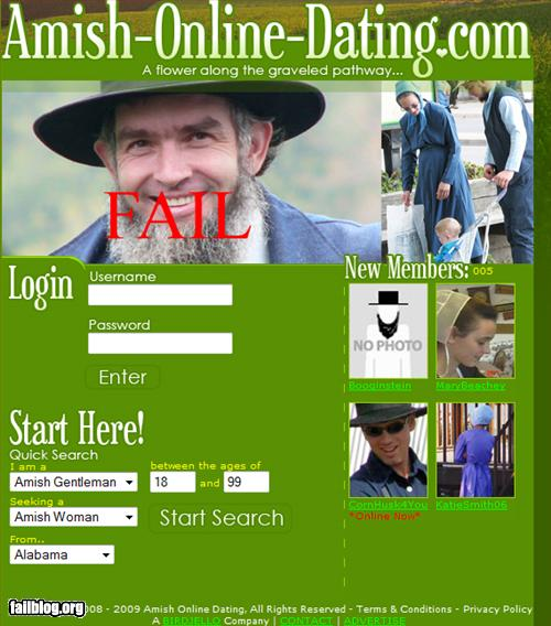 Amish girl dating site